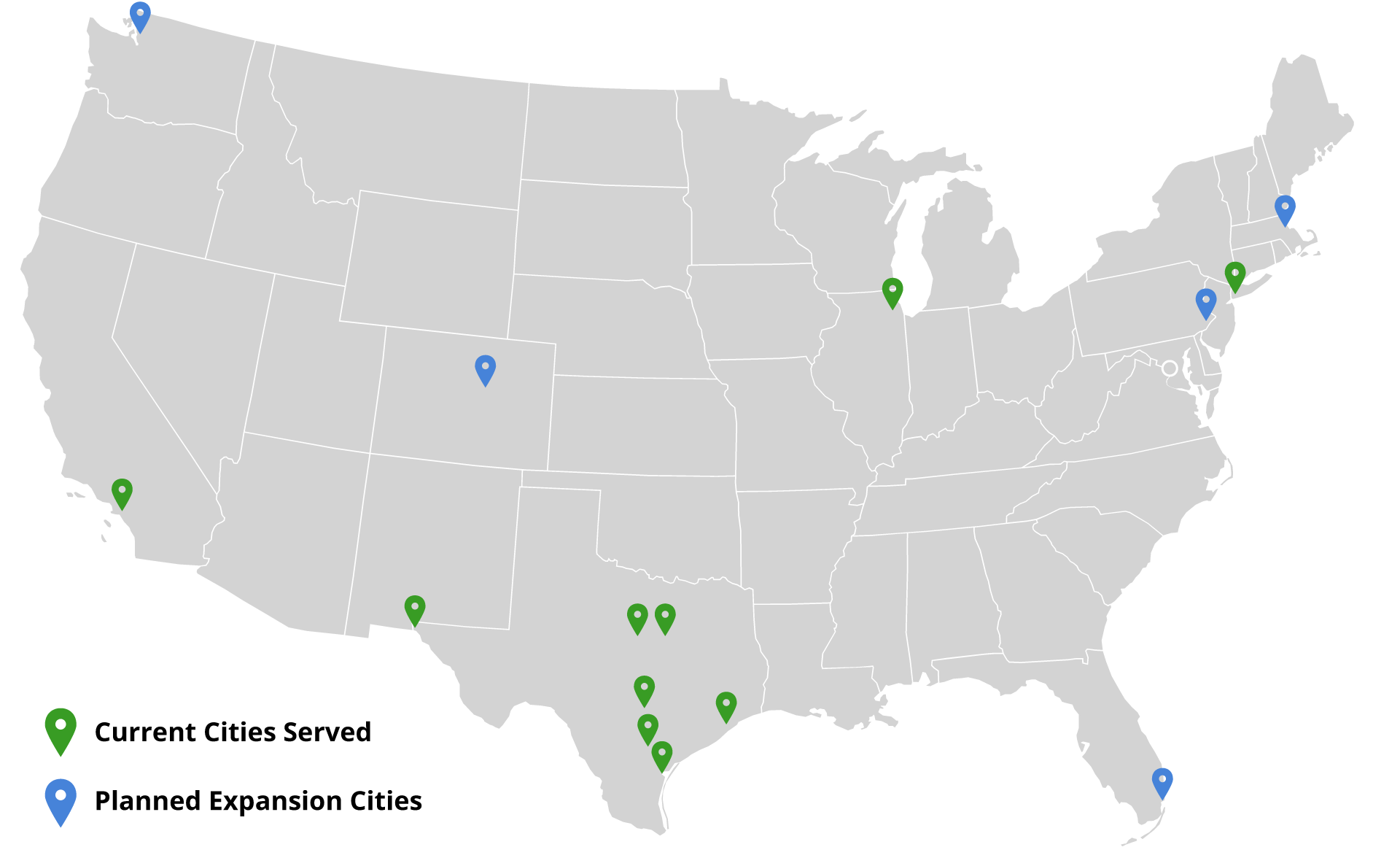 Map of Citify Cities